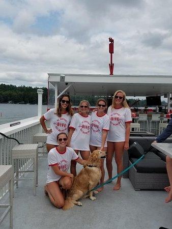 Alton Bay, NH: We have amazing customers