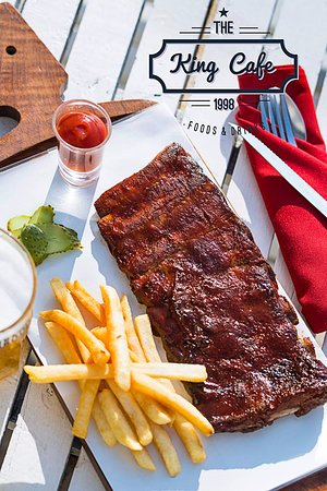 BBq rib with chip 295 the