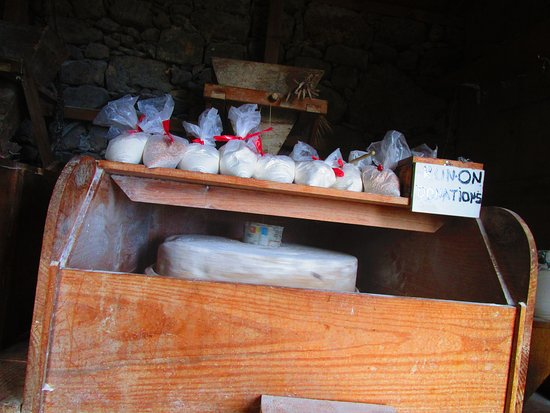 Santana, البرتغال: Interno del mulino
