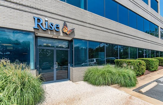 Rise Well-Being Center: Outside view of Rise.