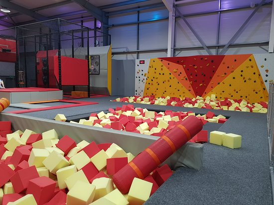 Alloa, UK: Jump N Joy Trampoline Park