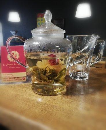 Fleur de thé jasmin ou mangue-ananas