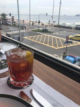 JANEIRO Hotel: Negroni com vista