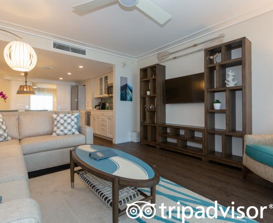 The One Bedroom King Deluxe Ocean View at The Laureate Key West