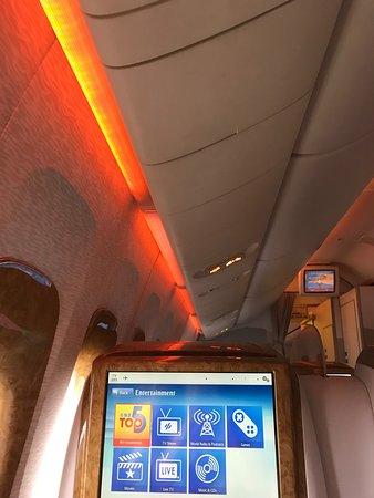 Emirates: cool lighting
