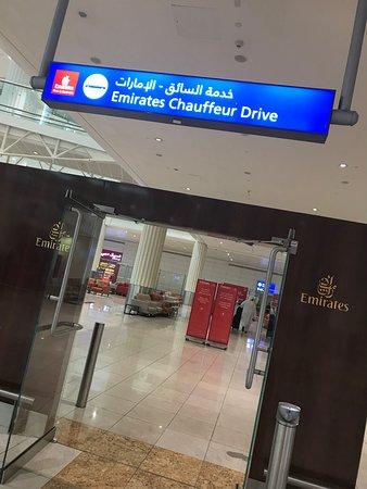 Emirates: Chauffeur-drive service - Dubai airport