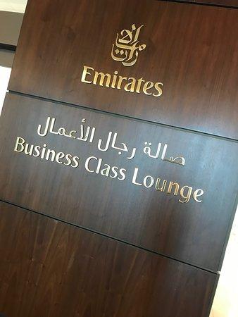 Emirates: Business Class Lounge – Dubai airport Terminal 3