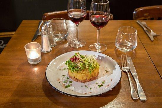 Restaurant Melodie: Parmentier de canard au Parmesan