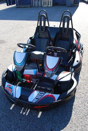 Notre karting bi-place