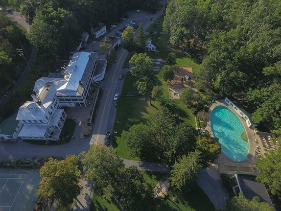 Capon Springs, WV: Main House and Spring Fed Pool