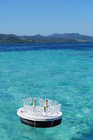Floating Champagne bar!