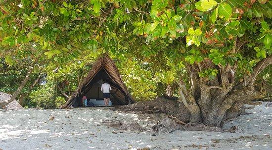 Nosy Iranja, มาดากัสการ์: tenda sul mare