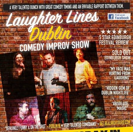 Laughter Lines Dublin-Comedy Improv