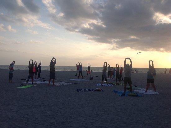 Nokomis Beach Yoga, North Jetty Beach Park Photo