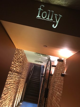 Folly entrance