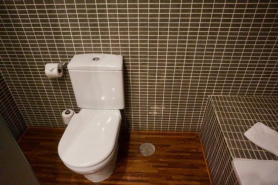 AC Hotel Recoletos: Dual flush efficient toilet