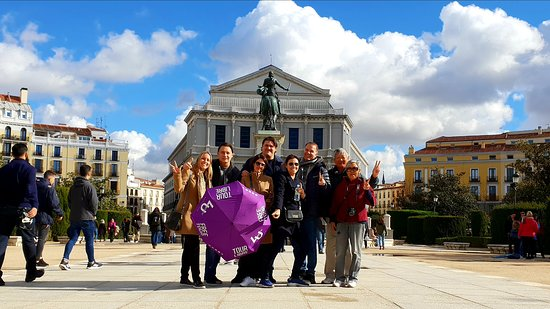 Enjoy the 'Ancient Madrid' with us!