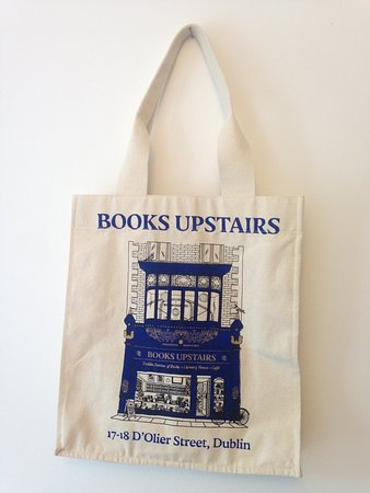 Books Upstairs: Canvas bag