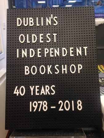 Dublin's Oldest Independent Bookshop estd. 1978