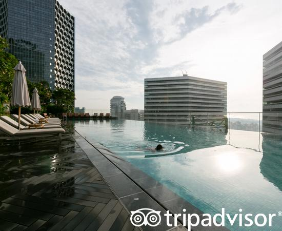 Pool at the Pools at the Andaz Singapore - a concept by Hyatt