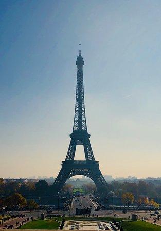 Un classico: la vista dal trocadero