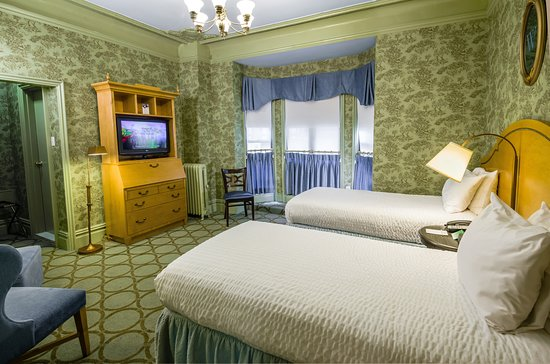 Twin room, Bringing back the look of 1904 hotel room.