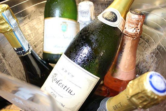 Espumantes, vinho brancos e Rosés