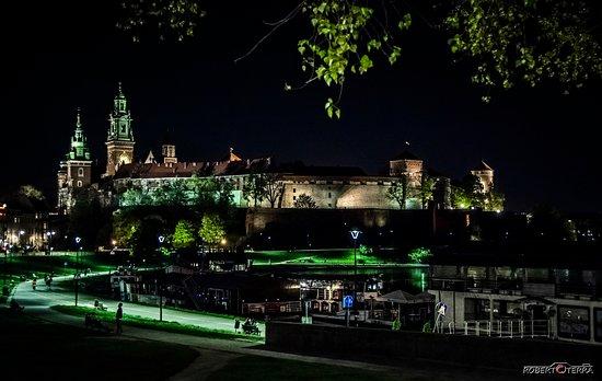 Castello di Wawel by night - il posto magico