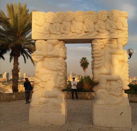 Alla old Jaffa Porta dell'apice