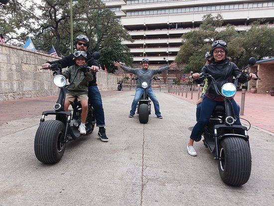 Most fun you can have on two wheels! Bring a friend or a loved one as passengers ride free!