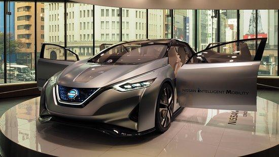 Nissan Crossing: Concept car