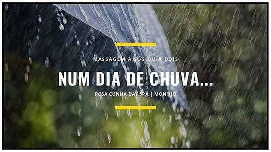 Rosa Cunha Day Spa: Num dia de chuva... Um óptimo dia para Relaxar com uma #Massagem!