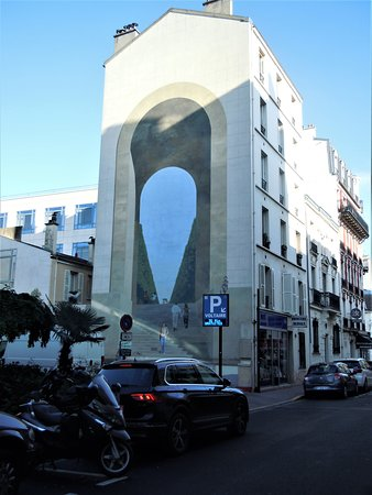 Fresque Entrée de Jardin: La fresque