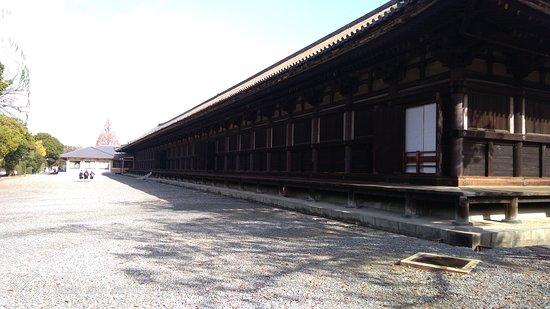 Храм Сандзюсангэн-до: 北側です