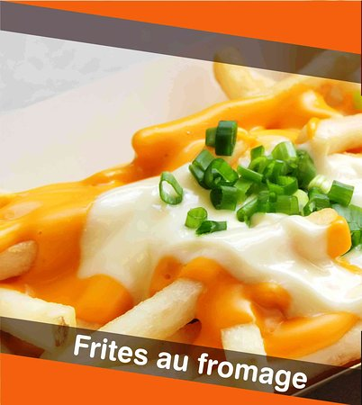 Kin Delicieux: Frite Au Fromage