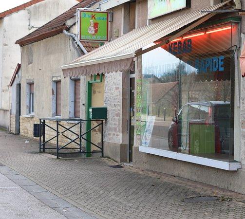 La façade de ce restaurant