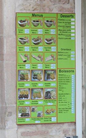 Dilek Kebab: Menu à emporter