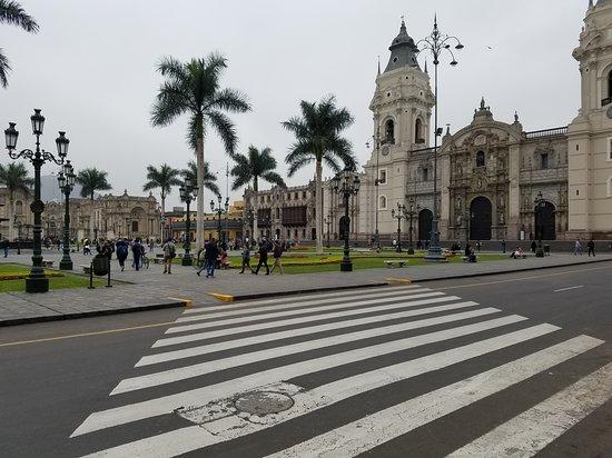 Plaza de Armas on a Downtown tour