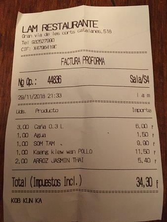 lam thai street food barcelona sant antoni restaurant reviews rh tripadvisor com