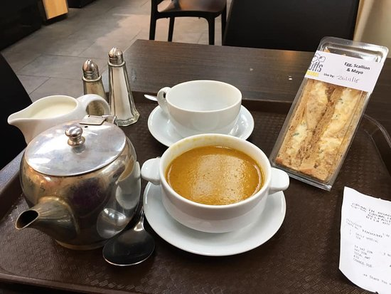 Belfast, UK: Good lunch at the site's cafe, called The Crum