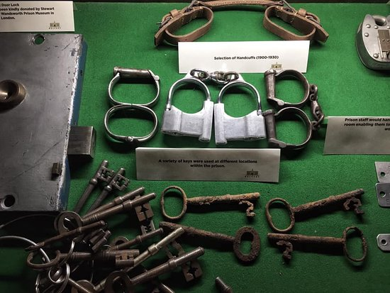 Belfast, UK: Sample cell locks and keys from over the life of the jail