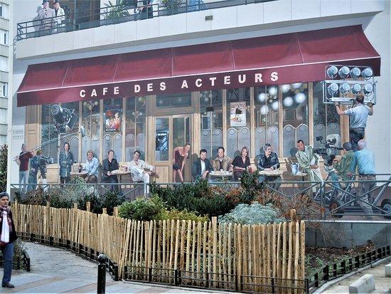 Fresque Cafe des Acteurs