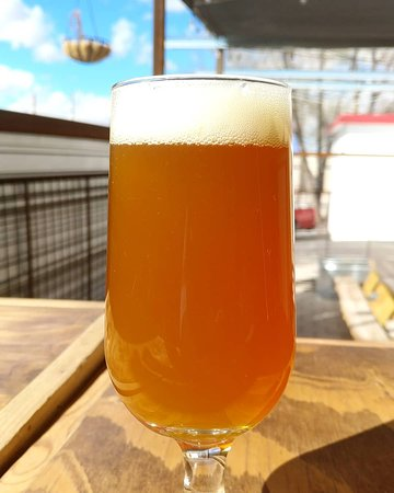 Apricot IPA 10.3%  Come slide into spring with this very refreshing IPA!