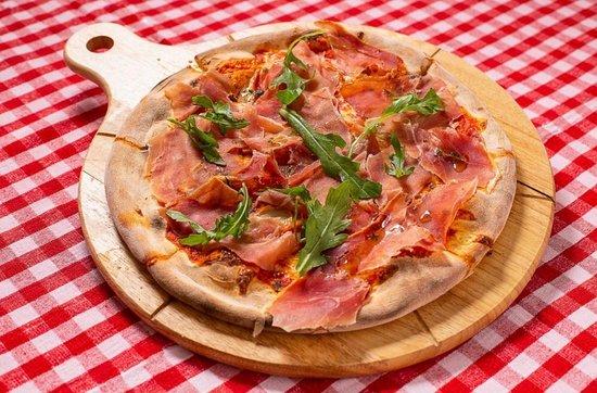 Trattoria Del Papa: Pizza Jambon