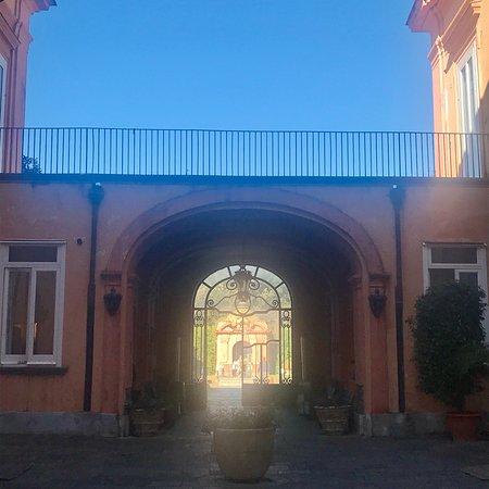Num castelo