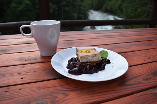 REO Rafting & Yoga Resort: Created in our kitchen