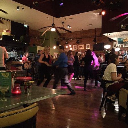 Dinner in Jimmys kitchen , restaurant SHEFFIELD ... little dancing in revolution de Cuba