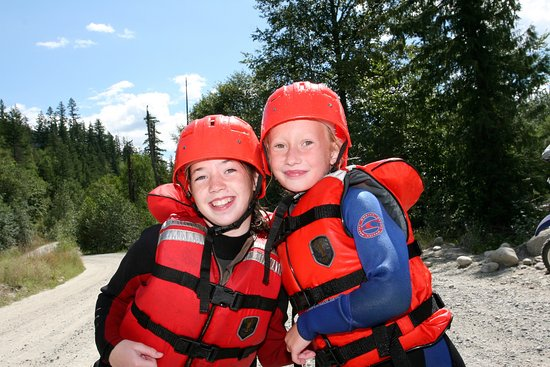 Kids love the rafting trips!