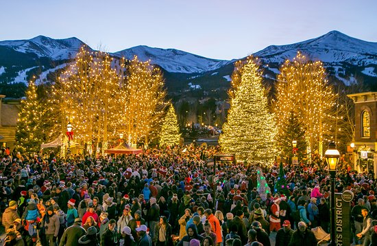 Breckenridge, CO: Lighting of Breck