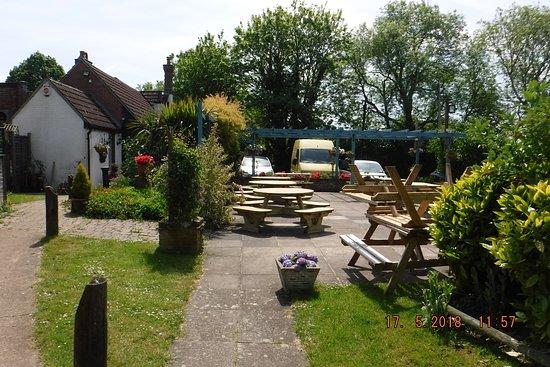The Ship Inn: an added atractioin in any pub garden!